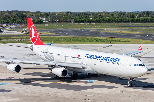 Flugreise mit Turkish Airlines